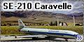 А-model 1/144 SE-210 Caravelle Аэрофлот
