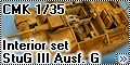 Обзор CMK 1/35 Sturmgeshutz III Ausf. G Interior set (for Ta