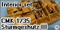 Обзор CMK 1/35 Sturmgeshutz III Ausf. G Interior set (for Ta